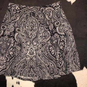 Napa Studio paisley circle wrap skirt, xs-small
